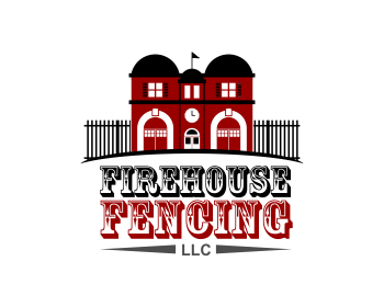 Firehouse Fencing, LLC logo design