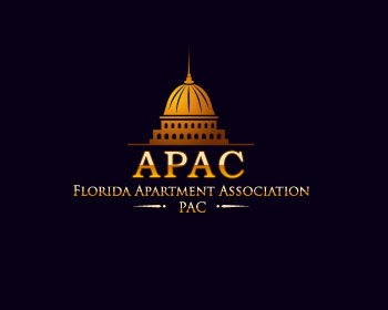 Florida Apartment Association PAC logo design