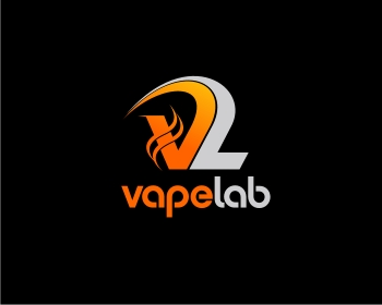 Vape Lab logo design