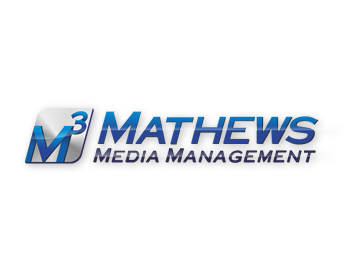 Mathews Media Management logo design