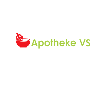 Apotheke VS logo design