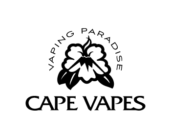 Cape Vapes logo design