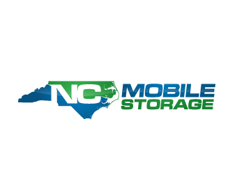 NC Mobile Storage logo design