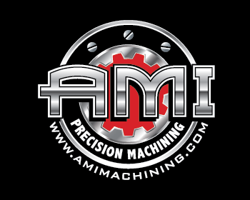 AMI Precision Machining logo design