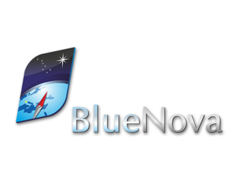 Blue Nova logo design