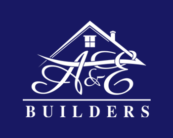A&E Builders logo design