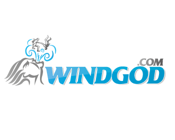 Windgod.com logo design