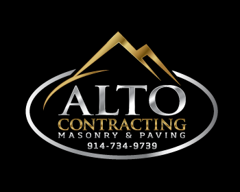 Alto Contracting logo design