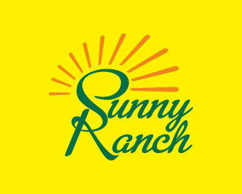 Sunny Ranch logo design