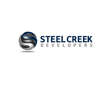 Steel Creek Developers logo design