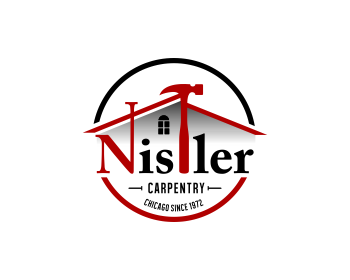 Nistler Carpentry logo design