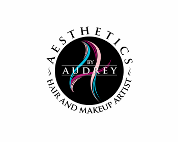 Logo design for Aesthetics By Audrey