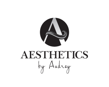 Aesthetics By Audrey logo design