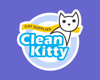 Clean Kitty logo design
