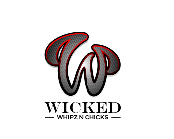 Wicked Whipz n Chicks logo design