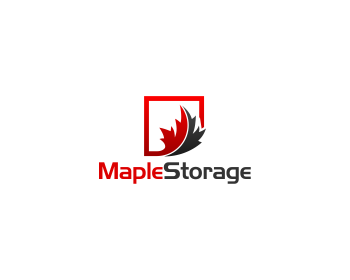 Maple Storage logo design