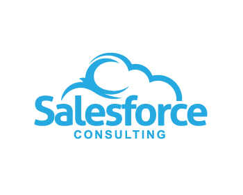 Salesforce Consulting logo design