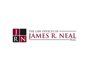 The Law Offices of James R. Neal PLLC logo design