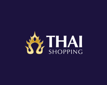Thai Shopping logo design