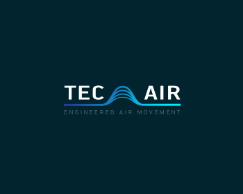 Tec Air, Inc. logo design