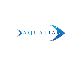 Aqualia logo design