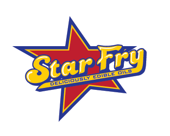 Star Fry logo design