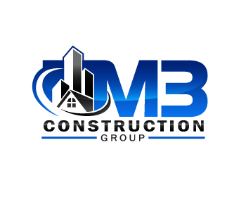 M3 Construction Group logo design