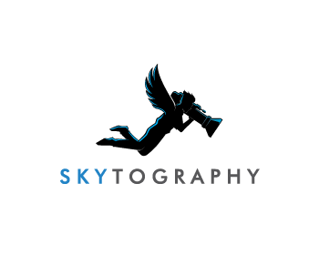 Skytography logo design