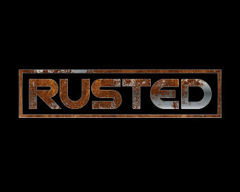 Rusted logo design