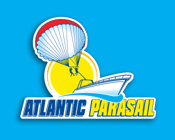 ATLANTIC PARASAIL logo design
