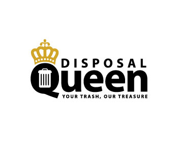 Disposal Queen logo design