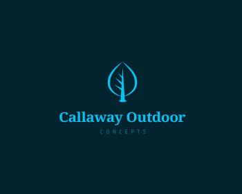 Callaway Outdoor Concepts logo design