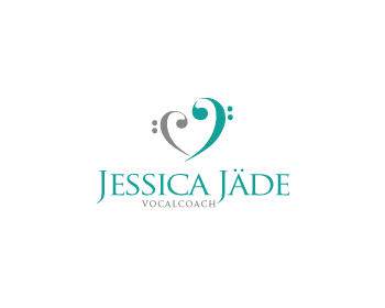 Jessica Jäde Vocal Coach logo design