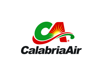Logo design for CALABRIA AIR