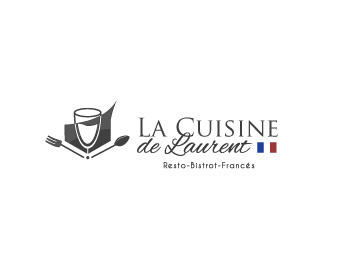 La cuisine de laurent logo design
