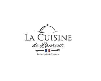 Logo design for La cuisine de laurent