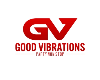 GOOD VIBRATIONS logo design