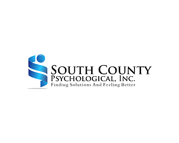 South County Psychological, Inc. logo design