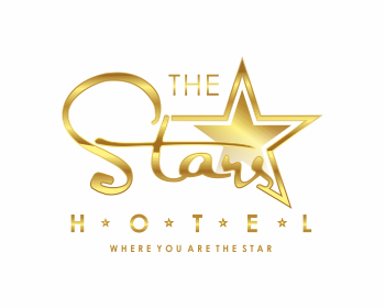 The STARS Hotel logo design