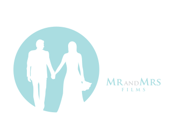Mr And Mrs Films logo design