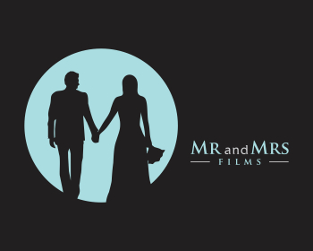 Logo design for Mr And Mrs Films