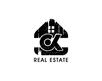 CK Real Estate logo design