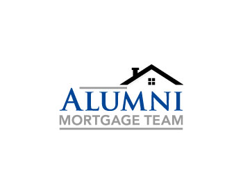 Alumni Mortgage Team logo design
