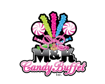 M&K Candy Buffet Inc. logo design