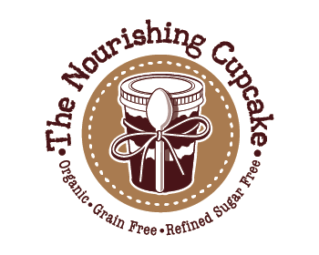 The Nourishing Cupcake logo design