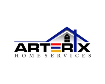 Arterix Home Services logo design