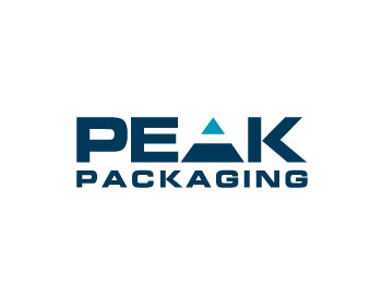 PEAK Packaging logo design