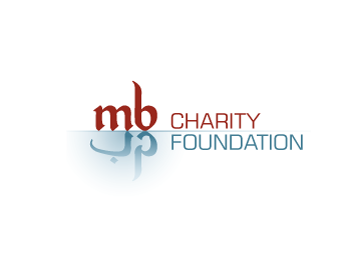 MB Charity Foundation logo design
