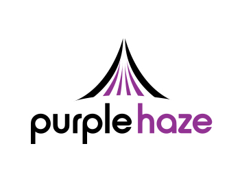 purple haze logo design