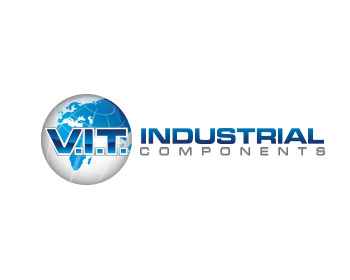 V.I.T. Industrial Components logo design